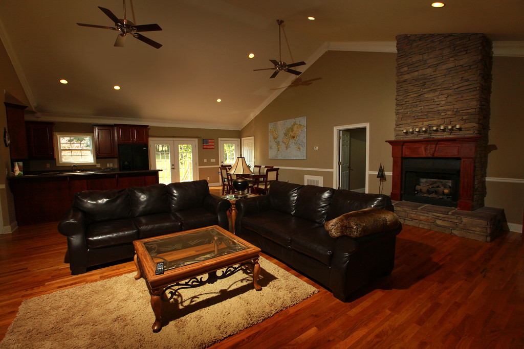 Inside Living Room Of Welcome Farm Guest house
